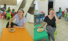 Welcome to our two new volunteers, Jule and Lea